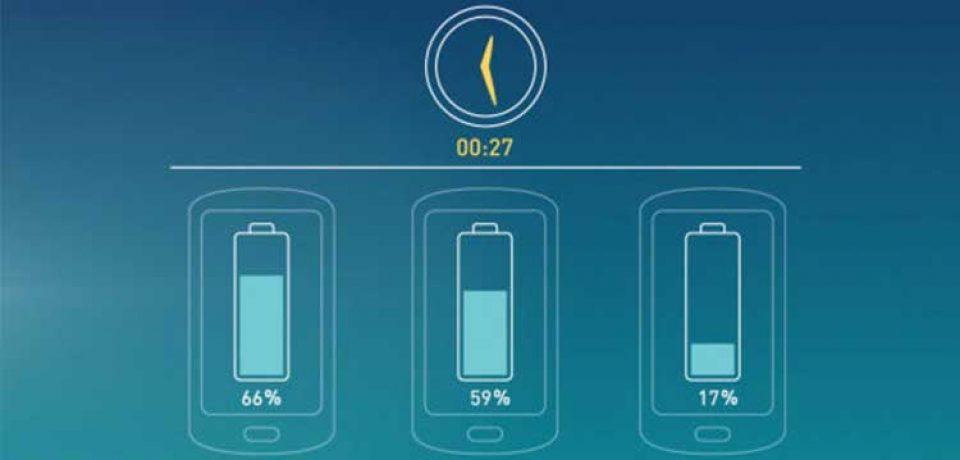 مقایسه موبایل ها با فناوری شارژ سریع
