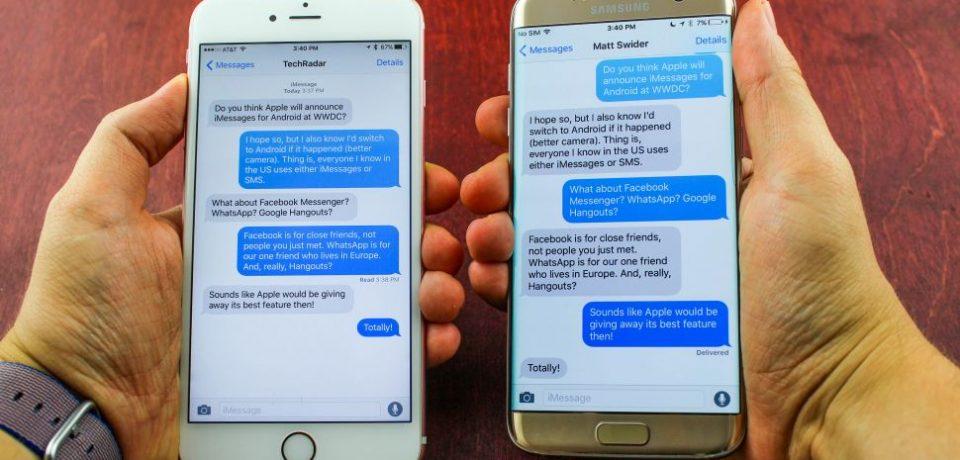 چرا به این زودی ها Apple سرویس iMessage را در اختیار اندرویدی ها نمی گذارد؟
