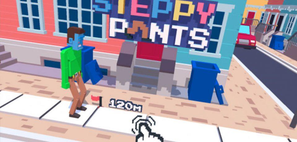 معرفی بازی Steppy Pants (مخصوص ios)