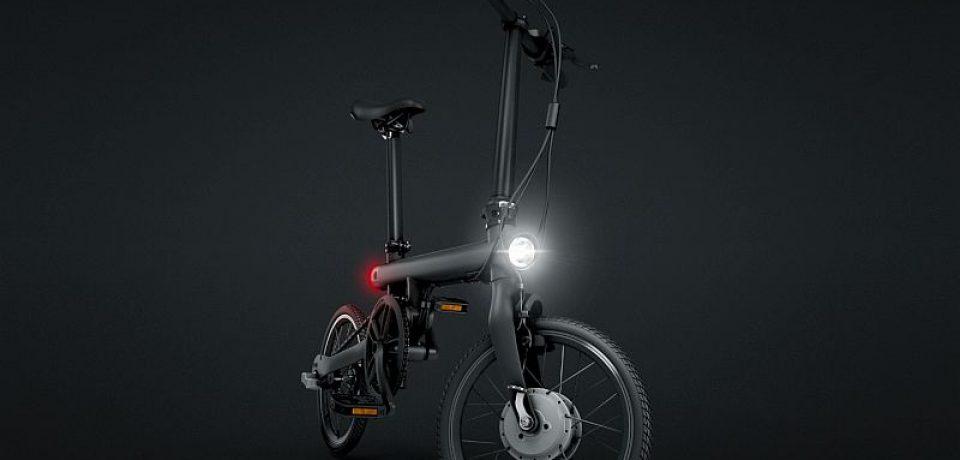دوچرخه برقی تاشو شیائومی به نام Mi QiCYCLE