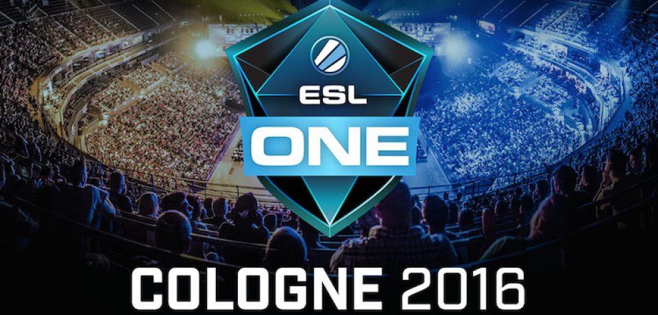 شروع مسابقات ESL Cologne 2016