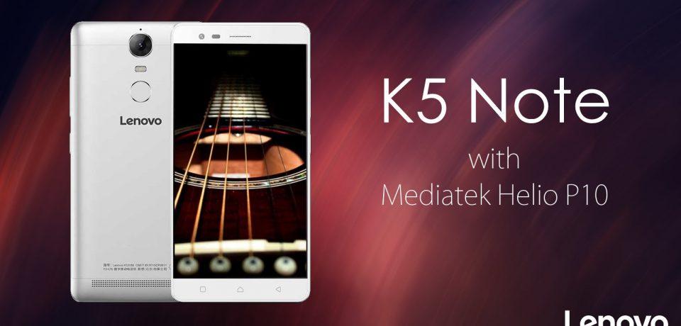 Lenovo K5 Note روز ۳۰ تیر در هند عرضه میشود