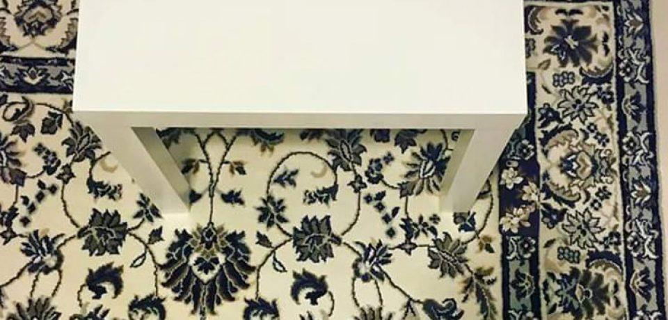 آیا می توانید آیفون گم شده روی فرش را پیدا کنید!؟