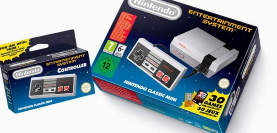 بازگشت بازی های نوستالژیک؛ نیتندو NES اینبار کوچکتر