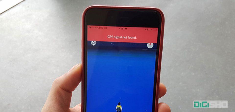 راهنمای رفع ارور 'GPS signal not found error' در بازی پوکمون گو