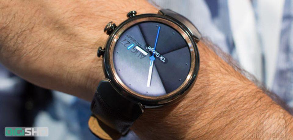 ایسوس از ساعت هوشمند ZenWatch 3 رونمایی کرد