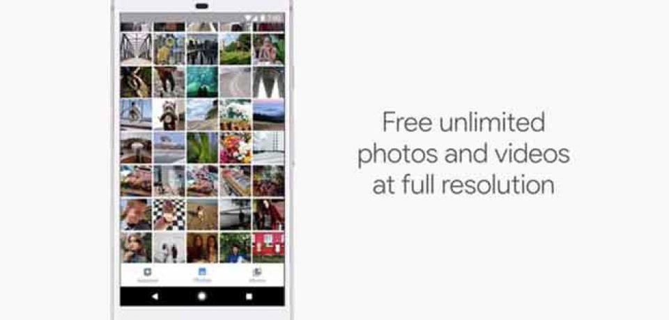 گوگل با معرفی حافظه نامحدود عکس و فیلم برای پیکسل ضربه ای به اپل زد