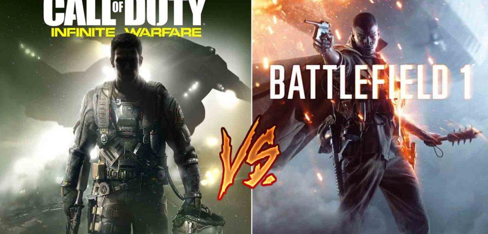 تیکه بزرگ و سنگین سازندگان Battlefield 1 به Call of duty: infinite warfare !