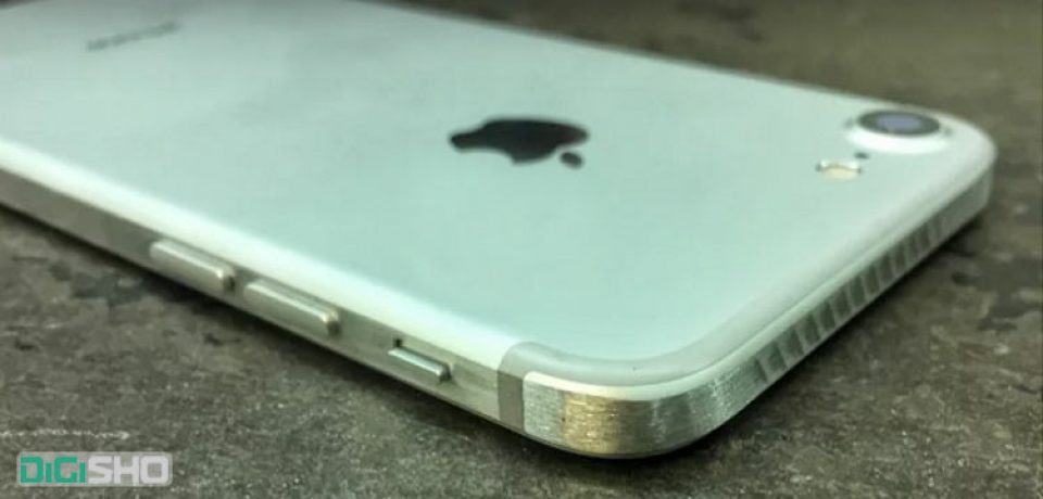ظاهر جدید آیفون ۷ با تراشیدن کناره های گوشی(ویدیو)