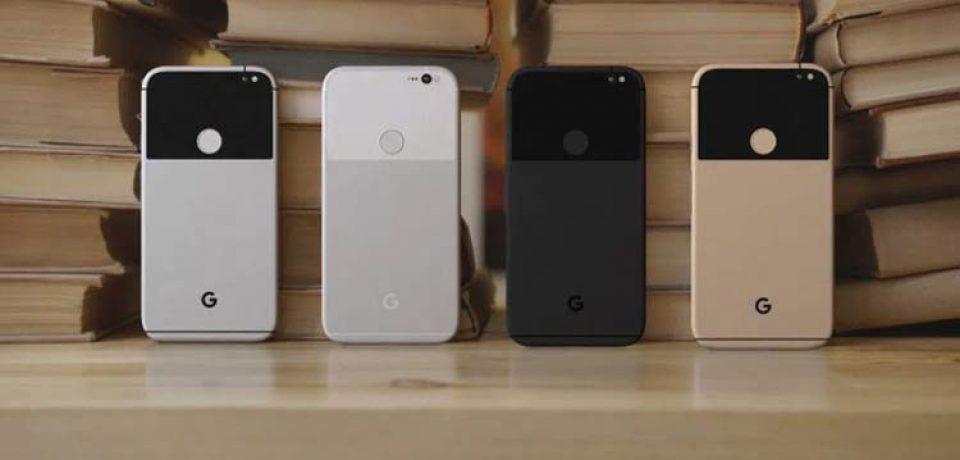 رندر های جدید گوشی Pixel و Pixel XL گوگل، رنگ طلایی را هم در بر گرفته
