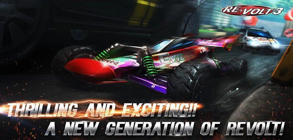 بازی ماشین مسابقه ای Re-Volt 3 برای اندروید و ios منتشر شد(به همراه لینک دانلود)
