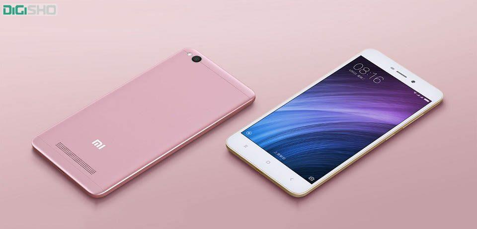 شیائومی دو گوشی شیائومی Redmi 4 و شیائومی  Redmi 4A را معرفی کرد