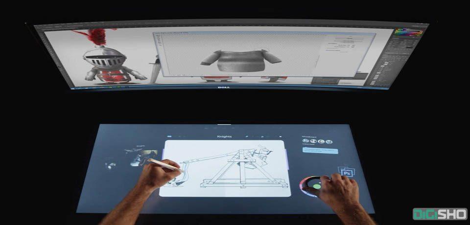 دل به طور رسمی از کامپیوتر جدیدش شبیه به سرفیس استدیو، رونمایی کرد