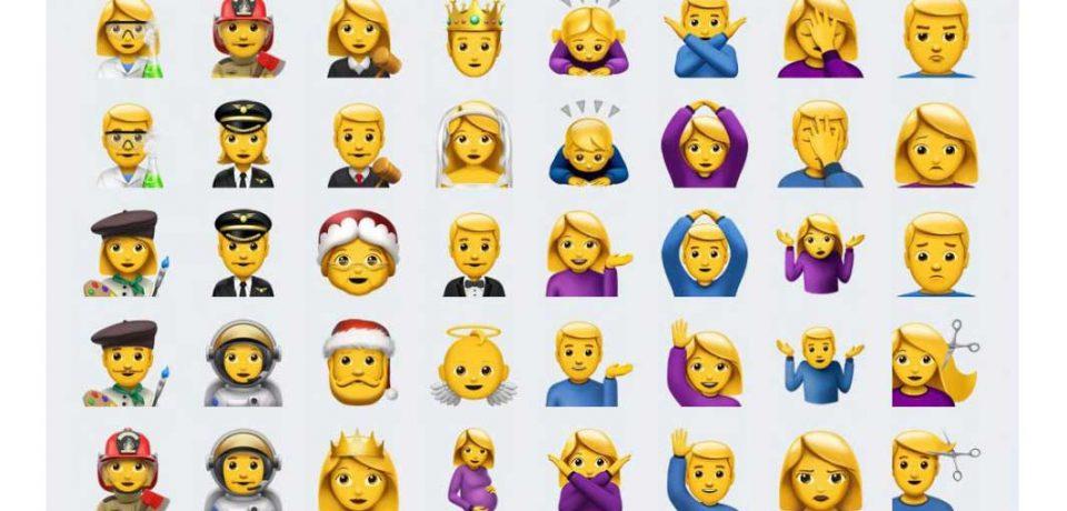 بارزترین ویژگی نسخه جدید سیستم عامل آیفون، emoji های جدید در iOS 10.2 است