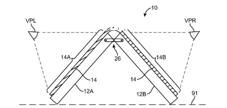 اپل حق ثبت اختراع از USPTO را برای صفحه نمایش منعطف دریافت کرد.