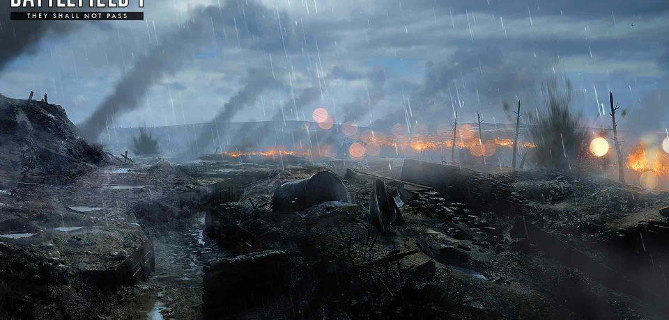 تصاویر جدیدی از بخش جدید They shall not pass بازی BF1 منتشر شد