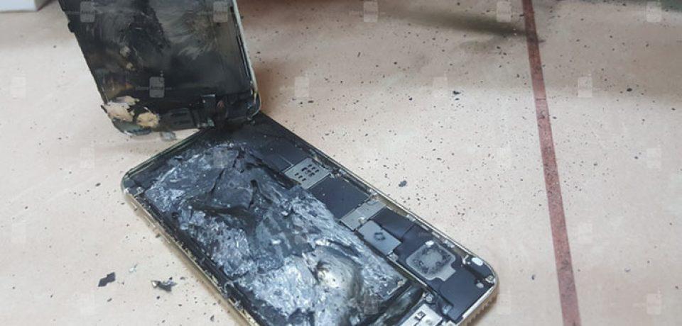 انفجار یک دستگاه آیفون ۶ اس پس از شارژ، نگرانی کاربران آیفون را دو چندان کرد!