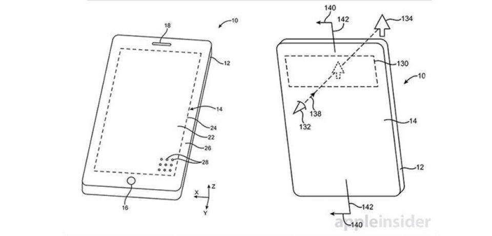 اپل و ثبت پتنتی منحصر به فرد برای آیفون بدون حاشیه!