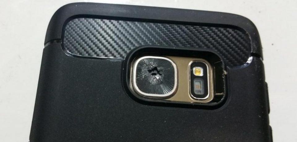 جدیدترین مشکل سامسونگ: شکستن خود به خود دوربین گلکسی اس ۷