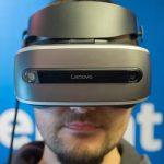 لنوو از هدست واقعیت مجازی مبتنی بر هولوگرافیک ویندوز رونمایی کرد