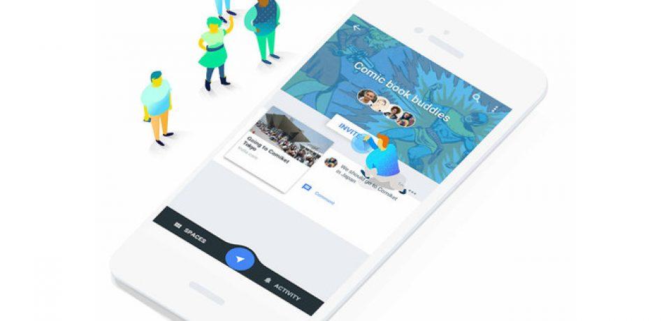 اپلیکیشن Google Spaces ، جدیدترین سرویس گوگل که از دسترس خارج خواهد شد
