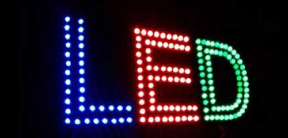 تابلو روان ال ای دی LED