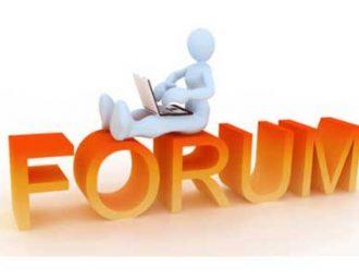 آموزش کار با فروم یا انجمن ها