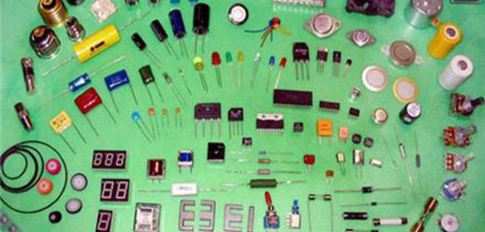 انواع قطعات الکترونیکی