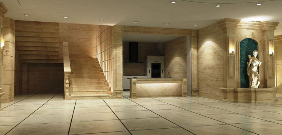 کاربرد سنگ در ساختمان