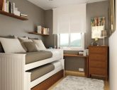 طراحی دکوراسیون اتاق های کوچک