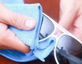 تمیز کردن عینک آفتابی