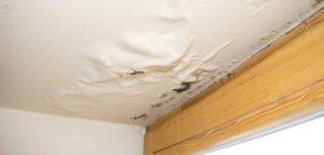 چگونه نشتی سقف را برطرف کنیم