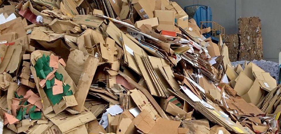 بازیافت کاغذ و مقوا