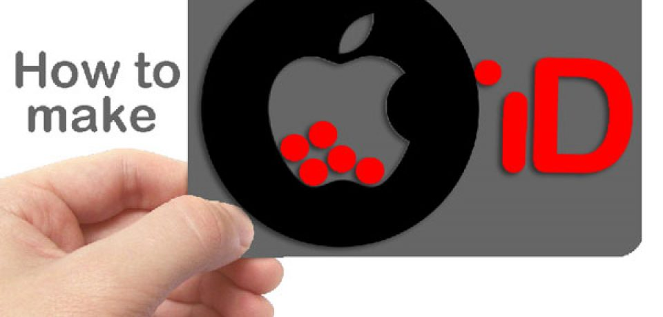 چگونگی ساخت اپل آیدی