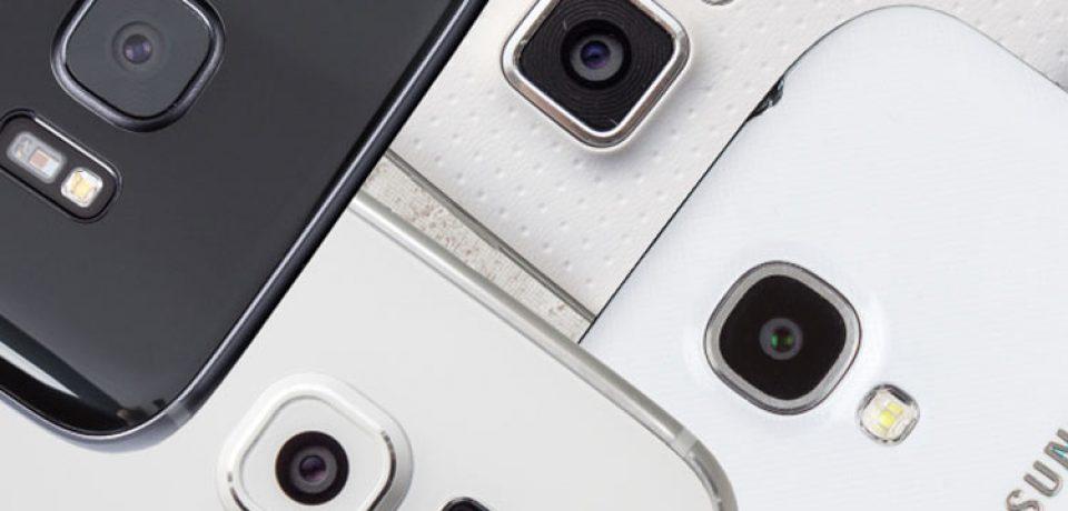 تکامل دوربین سری گلکسی اس؛ مقایسه دوربین گلکسی اس ۴ تا گلکسی اس ۷