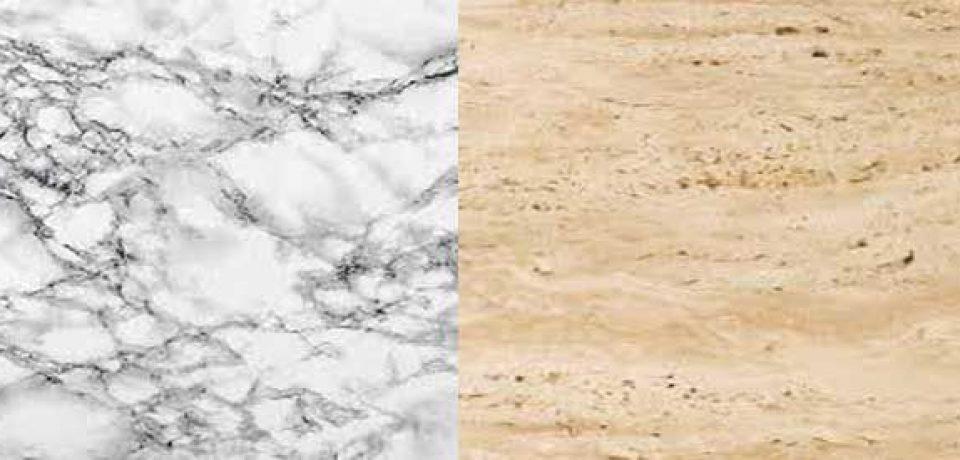 بررسی تفاوت های بین دو سنگ مرمر و تراورتن