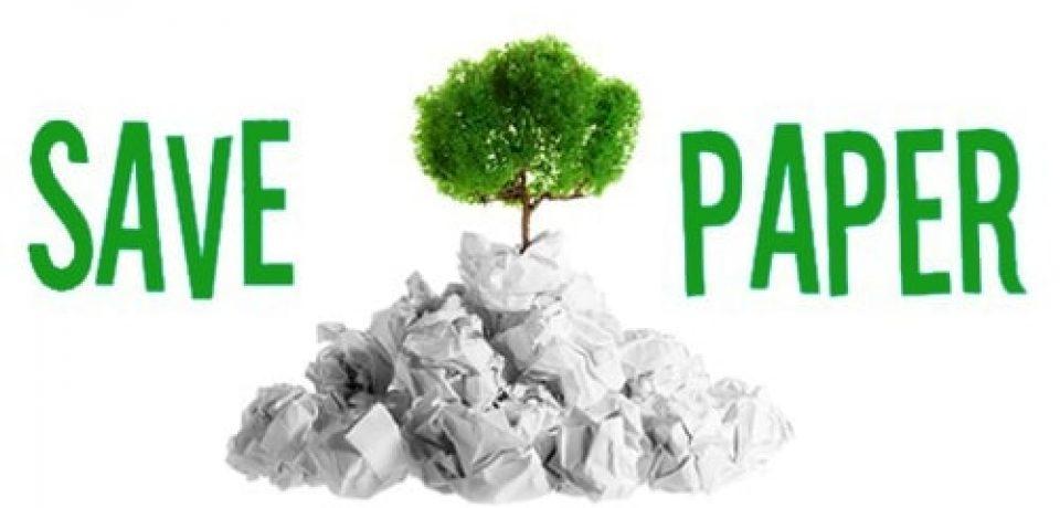 روش های ساده برای کاهش هدر رفتن کاغذ در دفتر کار